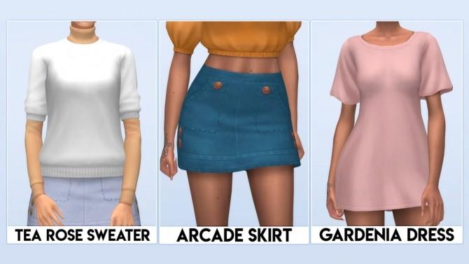 Sims 4 RETRO LOVE set at Vikai