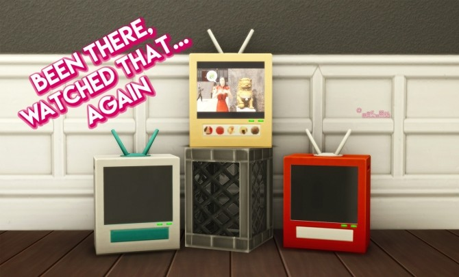 BEEN THERE, WATCHED THAT AGAIN TV at Picture Amoebae image 1675 670x405 Sims 4 Updates