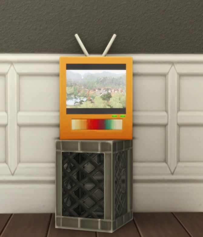 BEEN THERE, WATCHED THAT AGAIN TV at Picture Amoebae image 1685 670x781 Sims 4 Updates