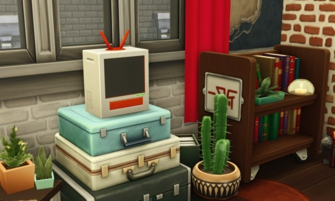 Sims 4 BEEN THERE, WATCHED THAT AGAIN TV at Picture Amoebae
