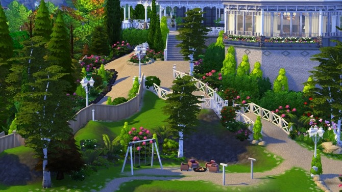 Hillcrest giant manor atop the cliffs of Brindleton Bay at BERESIMS image 1705 670x377 Sims 4 Updates