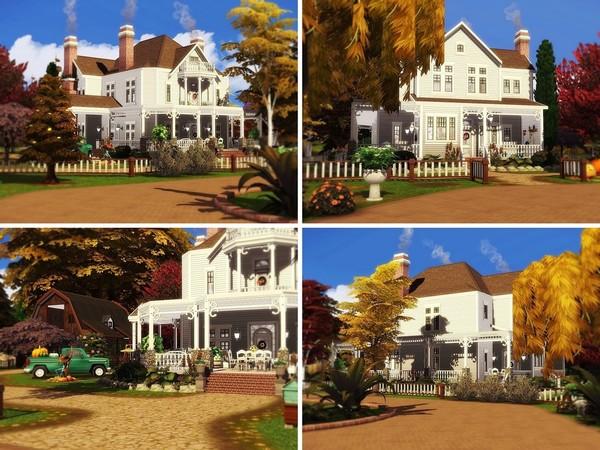 Sims 4 Hershels Farm by MychQQQ at TSR