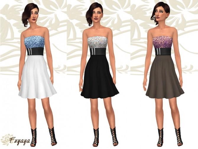 Raysan dress by Fuyaya at Sims Artists image 1745 670x503 Sims 4 Updates