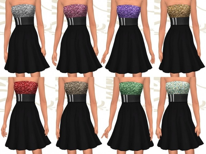 Raysan dress by Fuyaya at Sims Artists image 1754 670x503 Sims 4 Updates