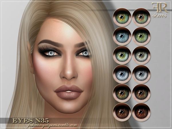 FRS Eyes N35 by FashionRoyaltySims at TSR image 1828 Sims 4 Updates