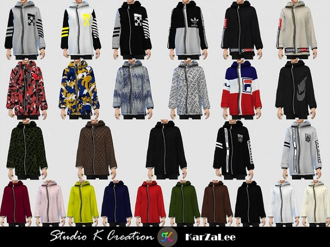 Giruto 68 hoodie coat at Studio K Creation image 1844 670x502 Sims 4 Updates