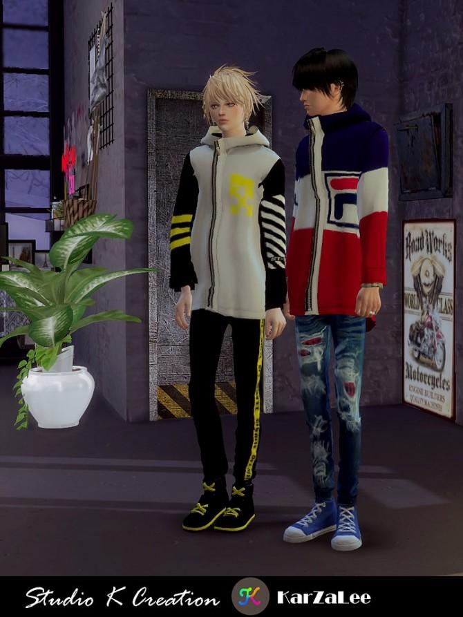 Giruto 68 hoodie coat at Studio K Creation image 1854 670x893 Sims 4 Updates