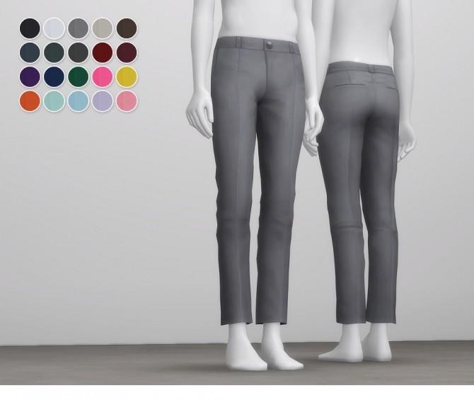 Sims 4 Formal Pants For M at Rusty Nail
