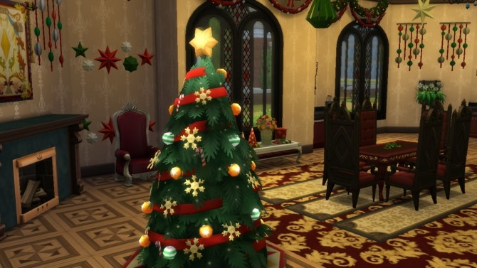 Sims 4 Dark Castle II at Tatyana Name