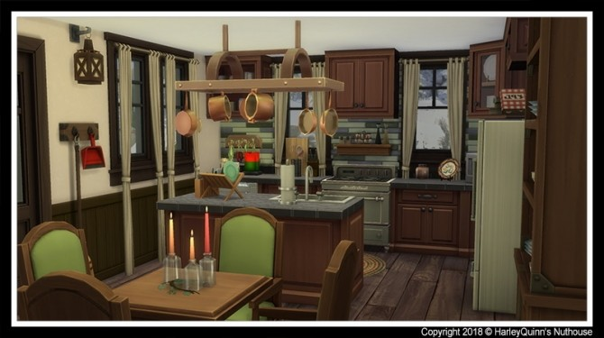 Sims 4 Christmas Cottage 2018 at Harley Quinn's Nuthouse