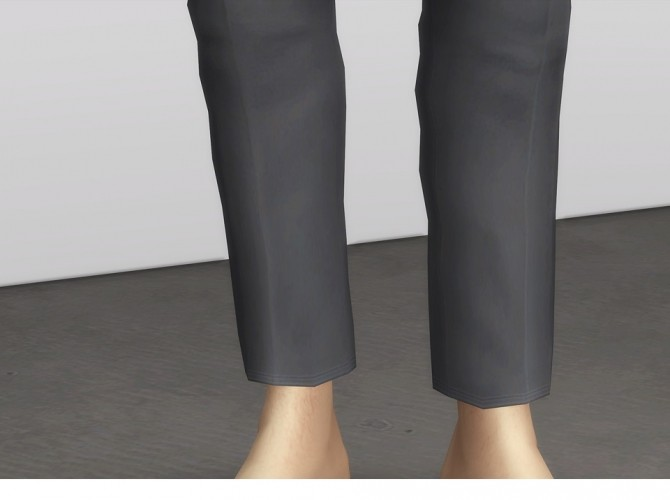 Sims 4 Formal Pants For M at Rusty Nail