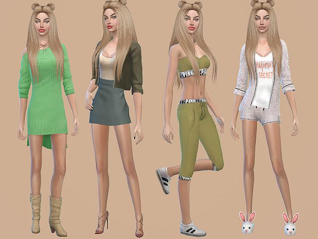 Sims 4 Shawna Minton at MSQ Sims
