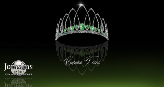 Sims 4 Rufiasa tiara at Jomsims Creations
