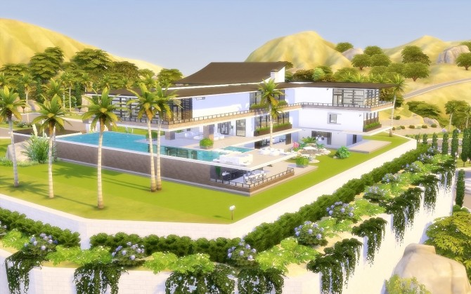 House 65 Celebrity Home At Via Sims 187 Sims 4 Updates