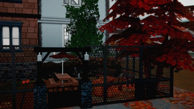 Sims 4 Newcrest Townhouses at Wiz Creations