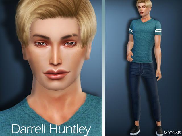 Darrell Huntley at MSQ Sims image 206 Sims 4 Updates