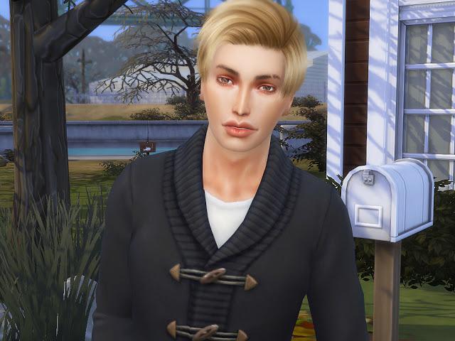 Sims 4 Darrell Huntley at MSQ Sims