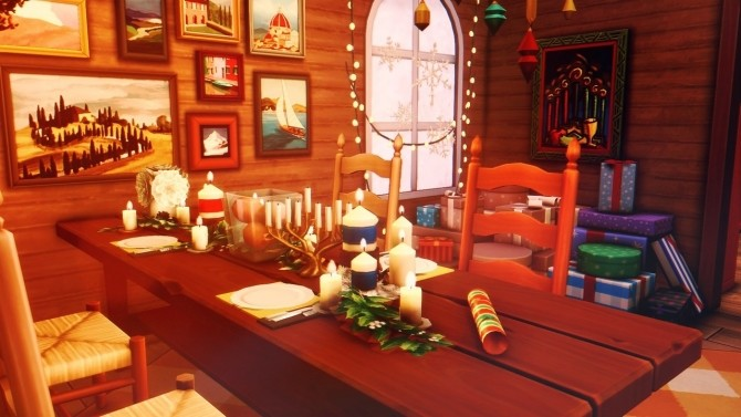 Sims 4 Winter Cottage at Wiz Creations