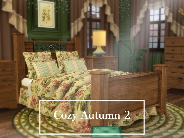 Cozy Autumn 2 house by Pralinesims at TSR image 2112 Sims 4 Updates