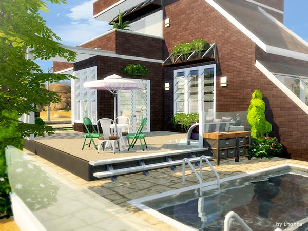 Sims 4 Tamara house by Lhonna at TSR