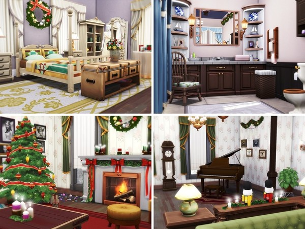 Sims 4 Home Alone House by MychQQQ at TSR