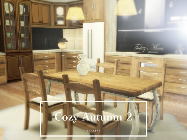 Cozy Autumn 2 house by Pralinesims at TSR image 2212 Sims 4 Updates