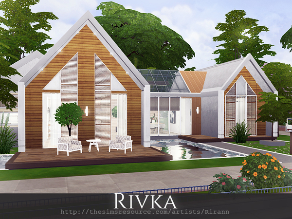 Rivka cottage by Rirann at TSR image 2213 Sims 4 Updates