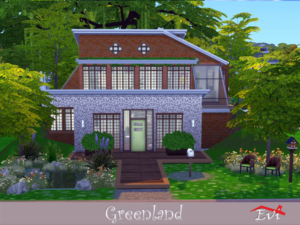 Greenland house by evi at TSR image 2217 Sims 4 Updates