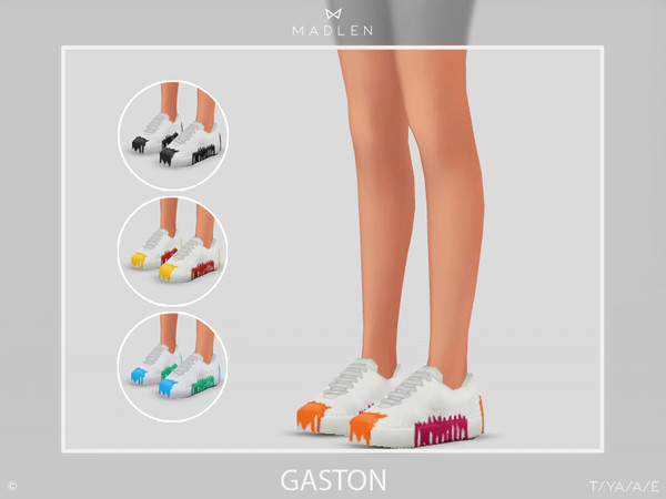 Sims 4 Madlen Gaston Shoes by MJ95 at TSR