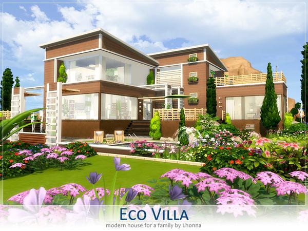 Eco Villa by Lhonna at TSR image 2314 Sims 4 Updates
