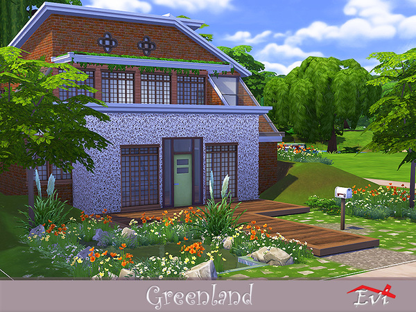 Greenland house by evi at TSR image 2317 Sims 4 Updates