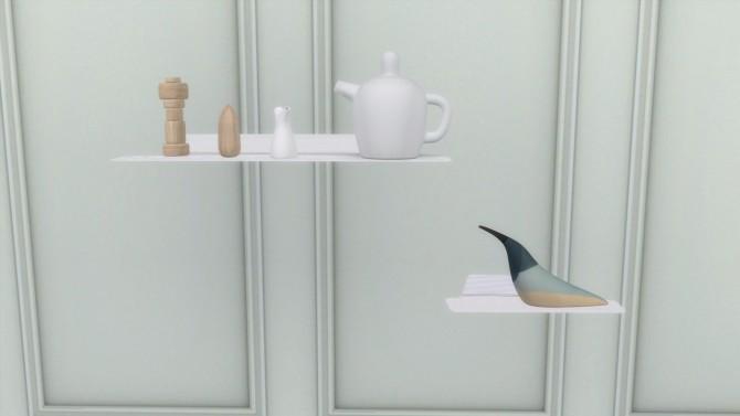 Sims 4 JET SHELVES at Meinkatz Creations