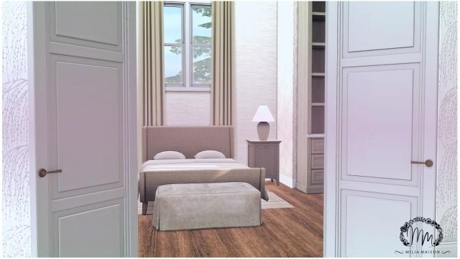 Sims 4 Blue Anne Dutch colonial home at Milja Maison