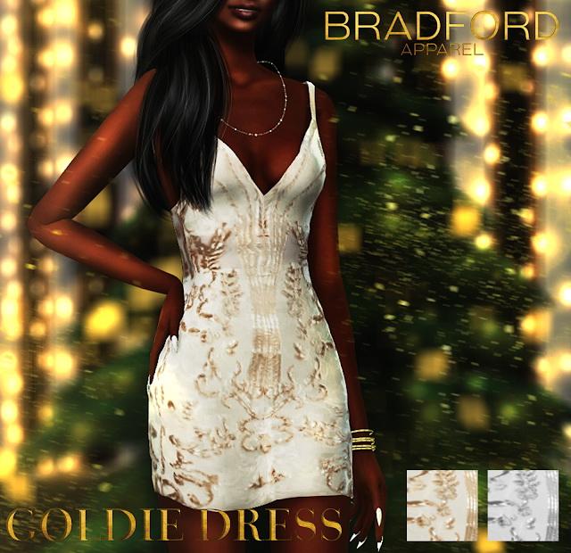 Sims 4 Goldie Dress at MURPHY