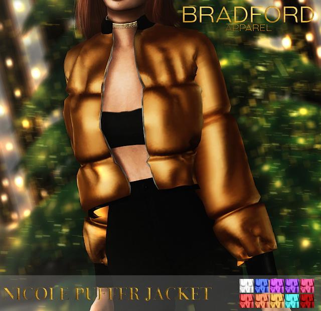 Sims 4 Nicole Puffer Jacket at MURPHY