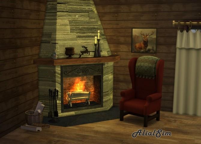 Corner fireplace at Alial Sim image 24110 670x481 Sims 4 Updates