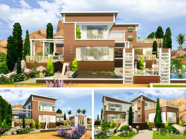 Eco Villa by Lhonna at TSR image 2414 Sims 4 Updates