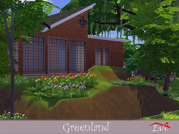 Greenland house by evi at TSR image 2417 Sims 4 Updates
