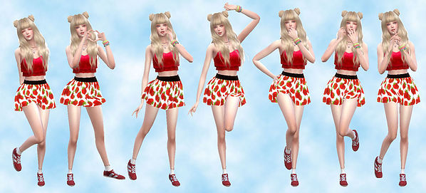 Sims 4 Combination Pose 30 at A luckyday