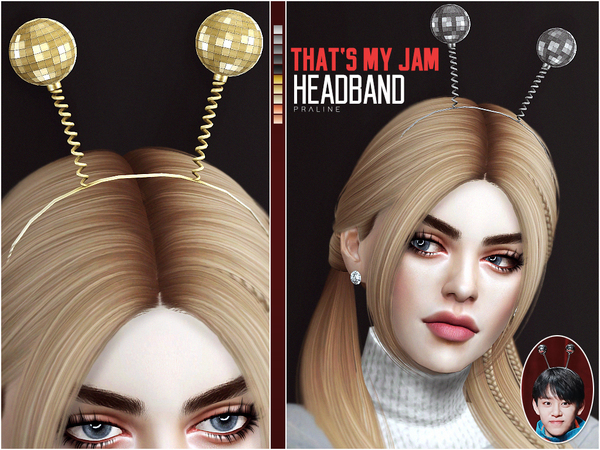 Sims 4 Thats My Jam Headband by Pralinesims at TSR