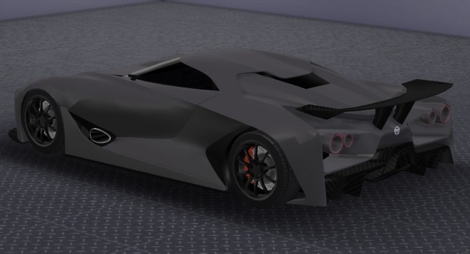 Sims 4 Nissan Concept 2020 Vision GT at Tyler Winston Cars