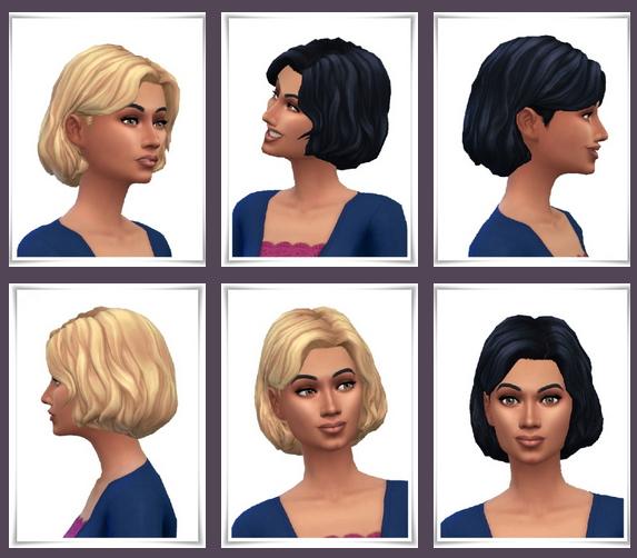 Sims 4 Wendy's Wavy Bob at Birksches Sims Blog