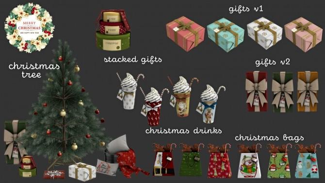 Sims 4 Merry Christmas set (P) at Leo Sims
