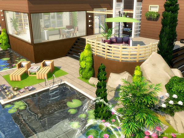 Eco Villa by Lhonna at TSR image 2514 Sims 4 Updates
