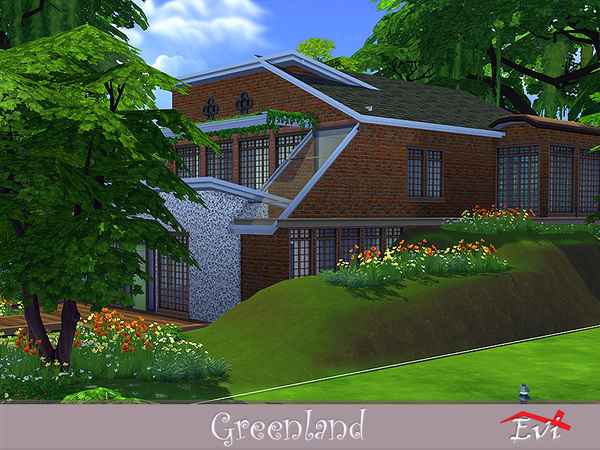 Greenland house by evi at TSR image 2517 Sims 4 Updates