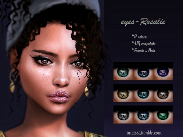Rosalie eyes by ANGISSI at TSR image 2527 Sims 4 Updates
