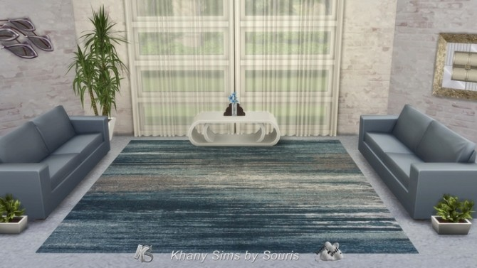 Sims 4 SQUITTEL rugs by Souris at Khany Sims