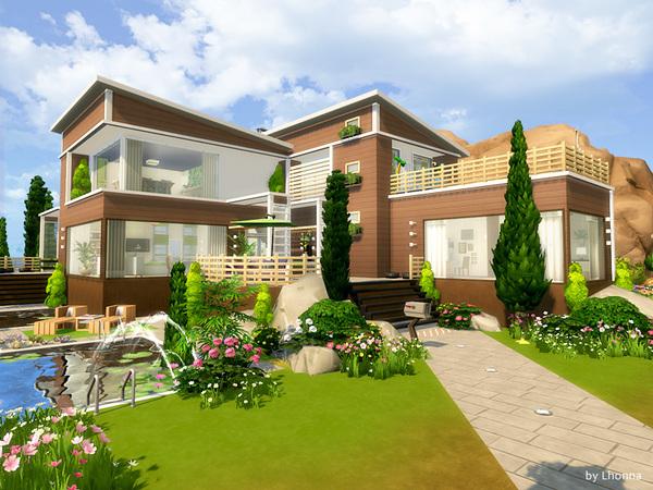 Eco Villa by Lhonna at TSR image 2613 Sims 4 Updates