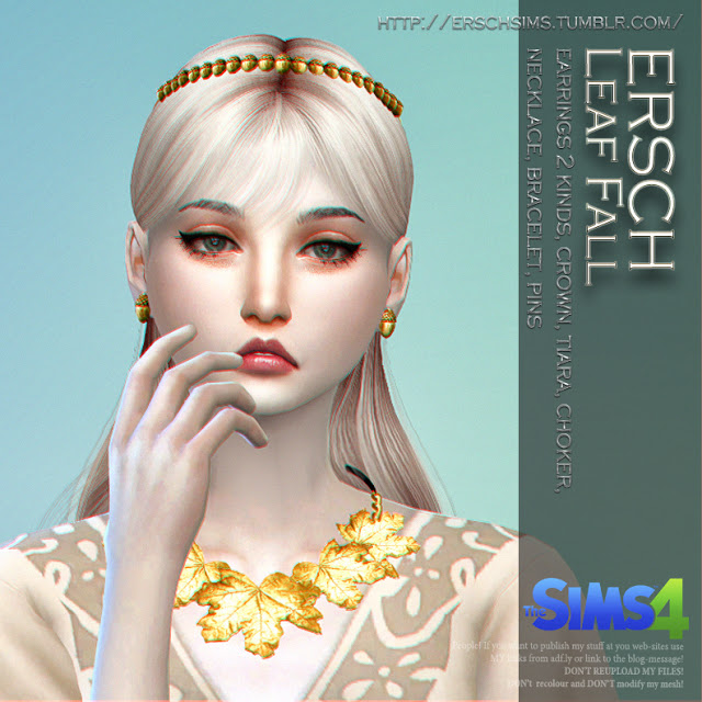 Leaf Fall Set at ErSch Sims image 269 Sims 4 Updates