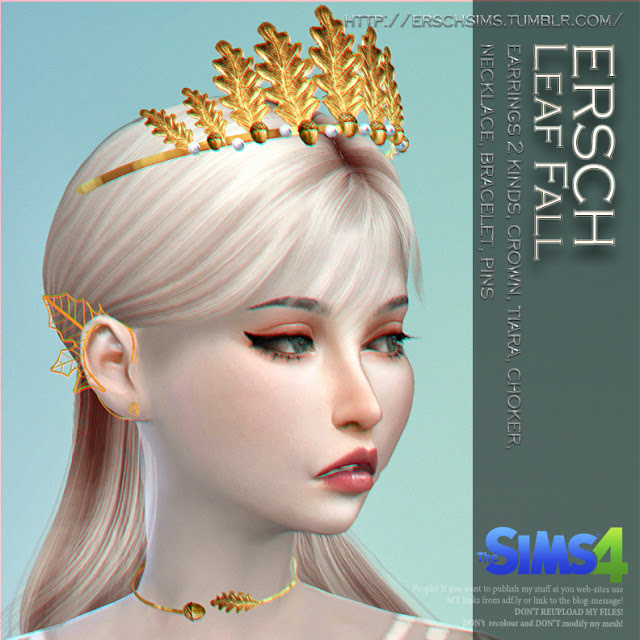 Leaf Fall Set at ErSch Sims image 270 Sims 4 Updates